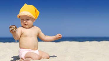 Soleil et enfants : risques