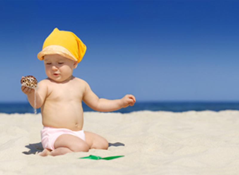Soleil et enfants : risques - AlaMaison.ch
