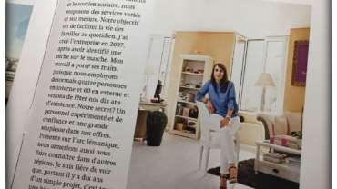 PRESSE : Magazine Mon Entreprise (Axa)